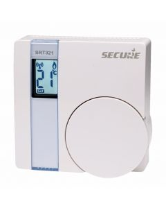 Z-Wave Plus Secure Controls Room Thermostat with Relay