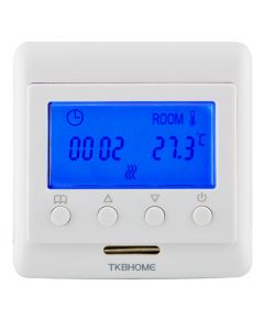 Z-Wave Plus TKB Home Термостат с LCD экраном