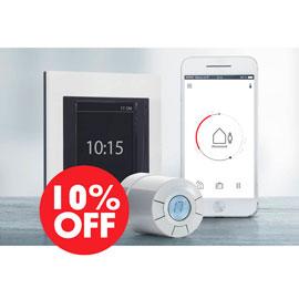 Успейте сэкономить на отоплении! Скидки 10%  на систему Danfoss!