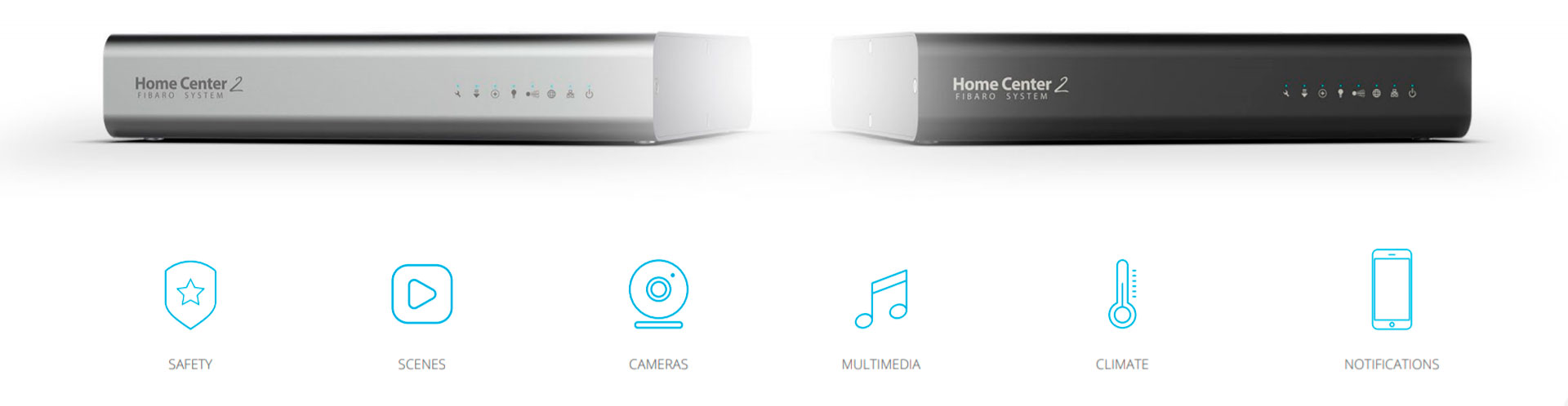 Z-Wave Fibaro Home Center 2 Черный