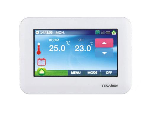 Z-Wave Plus TKB Home Термостат с сенсорным LCD экраном