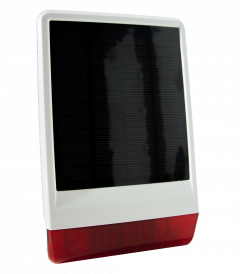 Z-Wave Plus Popp Солнечная внешняя сирена