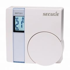Z-Wave Plus Secure Controls Room Thermostat