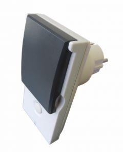 Z-Wave Plus Popp Внешняя розетка-выключатель