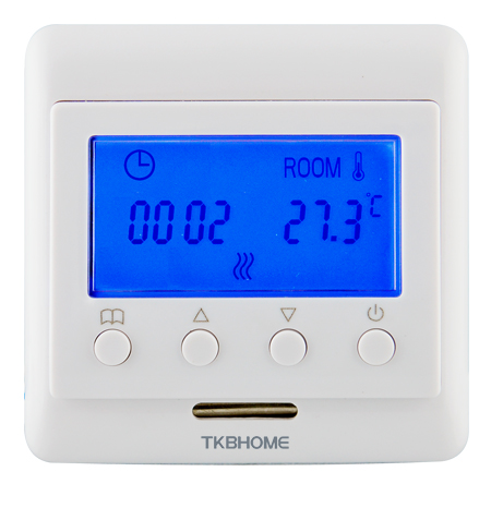 Z-Wave Plus TKB Home Термостат с LCD экраном